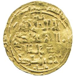GREAT SELJUQ: Sanjar, 1118-1157, AV dinar (3.06g), MM, DM. F