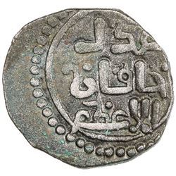GREAT MONGOLS: temp. Chingiz Khan, 1206-1227, AE jital (4.19g), [Ghazna], ND. EF