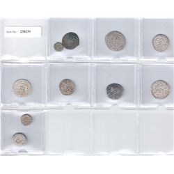 MEDIEVAL ISLAMIC: LOT of 10 coins