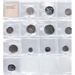 MEDIEVAL ISLAMIC: LOT of 12 coins of various types