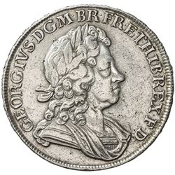 GREAT BRITAIN: George I, 1714-1727, AR crown, 1716. VF-EF