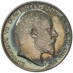GREAT BRITAIN: Edward VII, 1901-1910, AR florin, 1902. PF