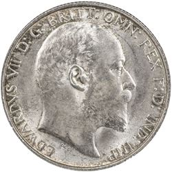 GREAT BRITAIN: Edward VII, 1901-1910, AR florin, 1902. NGC MS64