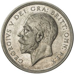 GREAT BRITAIN: George V, 1910-1936, AR crown, 1933. EF