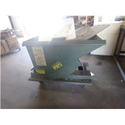 1/3 Yard Jesco Self Dumping Scrap Hopper