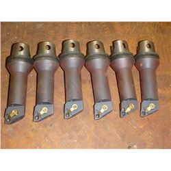 Lot of (6) Kennametal Cutters