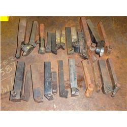 Lot of (24) Lathe Tool Holders