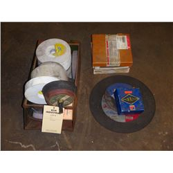 Lot of Sanding Wheels