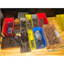 Lot of Misc Drill Bits, Cutters, Inserts
