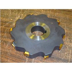 "Ingersoll 8"" x 1.25"" Indexable Slot Milling Cutter, P/N: 36J6E0820-03"