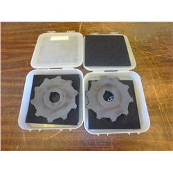 "New Ingersoll 7"" x 1/2"" Indexable Slot Milling Cutters, P/N: 35B6H0708-02"