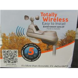 Acu-Rite Professional Weather Center Totally Wireless / 5in1 sensor