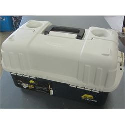 Plano 6 Tray Tackle Box / has a 1inch hole at the back corner/ Duct Tape ?