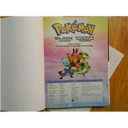 BOOK - HARDCOVER - POKEMAN BLACK & POKEMAN WHITE VERSION COLLECTOR'S EDITION - THE OFFICIAL POKEMAN
