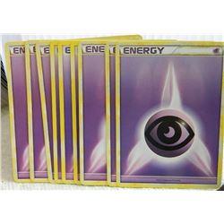 POKEMON COLLECTOR ENERGY CARDS - PSYCHIC - 9 TTL