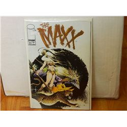MAXX 2 APR 1993 - VERY GOOD - few bends in cover - WITH SLEEVE & BOARD