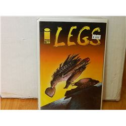 LEGG ONE SHOT 1999 - NEAR MINT - WITH SLEEVE & BOARD