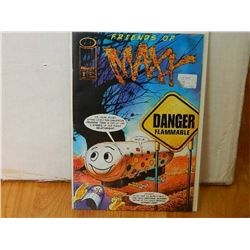 FRIENDS OF MAXX 1 APR 1996 - NEAR MINT - WITH SLEEVE & BOARD