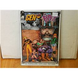 GEN 13 / MAXX ONE SHOT #1 DEC 1995 - NEAR MINT - WITH SLEEVE