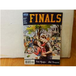 FINALS #1 SEP 1999 No. 1 OF 4 - NEAR MINT - WITH BAG & BOARD