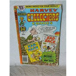 HARVEY COLLECTOR$ COMIC$ - NO. 16 - condition fair with writting, worn and folds - as-is