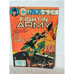 FIGHTN' ARMY - No. 167 - 1983 - condition stains, writing, creases & folds - as-is