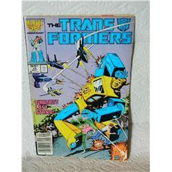 THE TRANSFORMERS - VOL. 1 No.16 1986 - BUMBLEBEE'S LAST STAND - condition fair - water stains, back