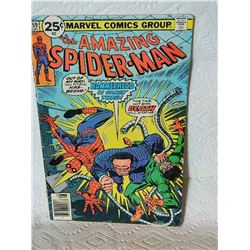 THE AMAZING SPIDERMAN - #159 1976 - condition fair - binding marks, writing on back & little stains