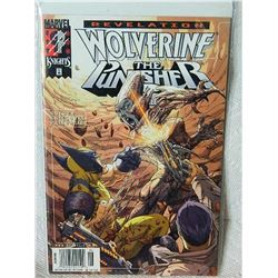 WOLVERINE THE PUNISHER REVELATION - 2001 - #3 - NEAR MINT - WITH PLASTIC & BOARD
