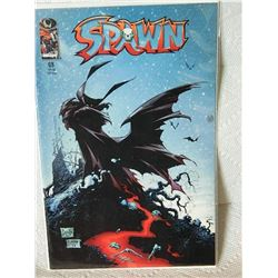 SPAWN 1992 - #68 - NEAR MINT - WITH BAG & BOARD