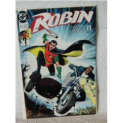 ROBIN - THE ADVENTURE BEGINS - 3 OF 5 - MAR 91 - condition - NEAR MINT - WITH BAG & BOARD