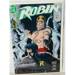 ROBIN - THE ADVENTURE BEGINS - 5 OF 5 - MAY 91 - condition - NEAR MINT - WITH BAG & BOARD