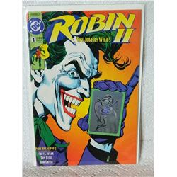 ROBIN 2 THE JOKER'S WILD - 1991 - #1 - NEAR MINT - WITH BAG & BOARD