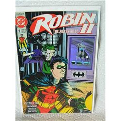 ROBIN 2 THE JOKER'S WILD - 1991 - #2 - NEAR MINT - WITH BAG & BOARD