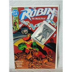 ROBIN 2 THE JOKER'S WILD - 1991 - #3 - NEAR MINT - WITH BAG & BOARD