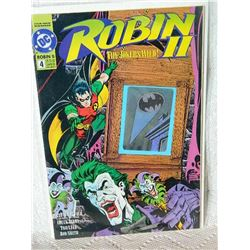 ROBIN 2 THE JOKER'S WILD - 1991 - #4 - NEAR MINT - WITH BAG & BOARD