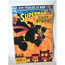 SUPEMAN #172 - 2001 #34 - OUR WORLDS AT WAR - ALL OUT WAR - CONDITION NEAR MINT - WITH BAG & BOARD