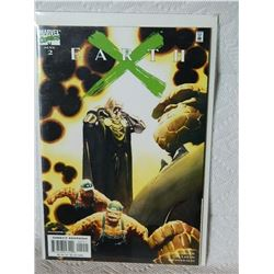 EARTH X #2 - 1999 - NEAR MINT - WITH BAG & BOARD