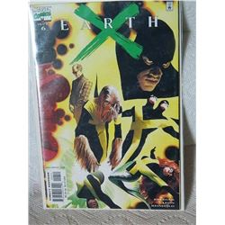 EARTH X #6 - 1999 - NEAR MINT - WITH BAG & BOARD