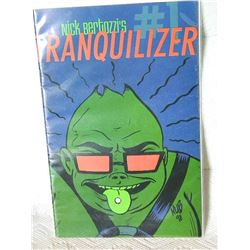 TRANQUILIZER - 1998 #1 - NEAR MINT - WITH BAG & BOARD