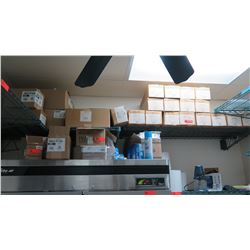 Huge Lot of Disposable Food Service Supplies - Bags, Bakery Boxes, T-Shirt Bags, etc.