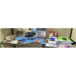 Misc. Office Supplies: Scissors, Power Cables, iMac Cable Lock, Velcro Fasteners