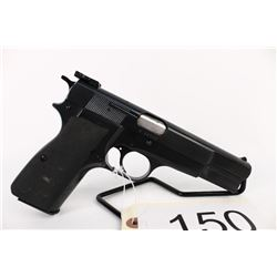 RESTRICTED. Beautiful Browning Hi-Power