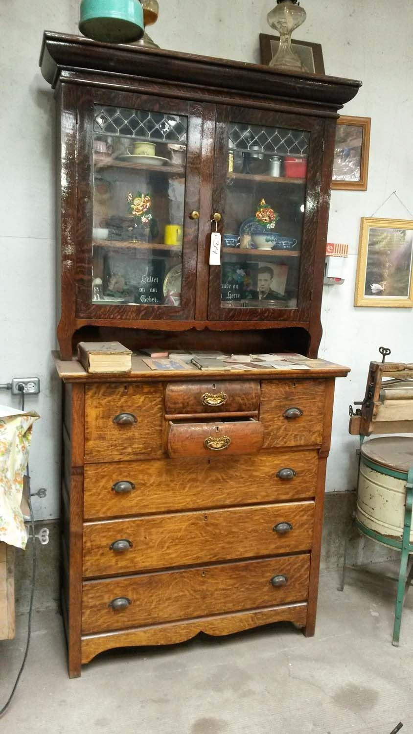 Gentil Image 1 : Two Piece China Cabinet ...