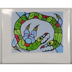 """Norval Morrisseau (1931-2007) """"Protection of the"""