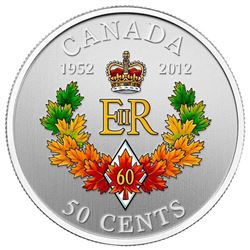The Queen's Diamond Jubilee Emblem for Canada - Silver