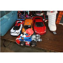 TOTE OF RC CARS