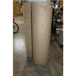 LARGE ROLL OF CARDBOARD