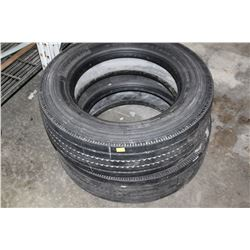 TWO 225/70R19.5 INCH TIRES