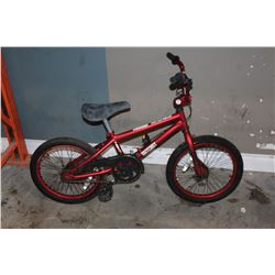 RED OUTCAST YOUTH BIKE